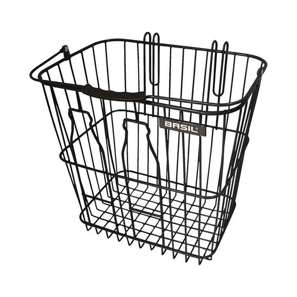Bottle basket - Fahrradkorb - schwarz