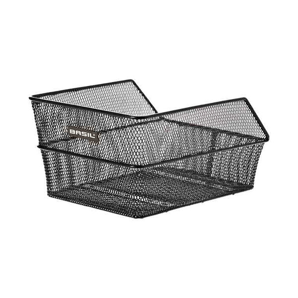 Cento S - bicycle basket - black