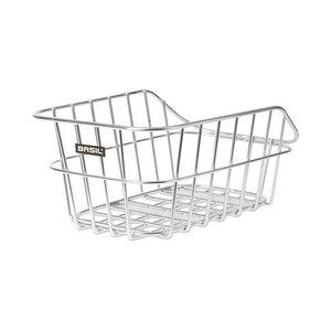 Basil Cento Alu - bicycle basket – rear - aluminium