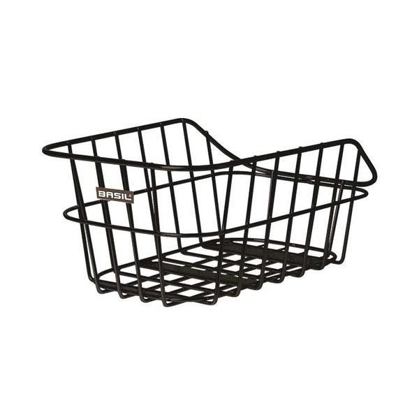 Cento Alu - bicycle basket - black