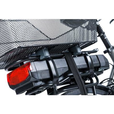Basil Cento WSL - Fahrradkorb - hinten - schwarz