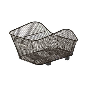 Basil Icon S - bicycle Basket - rear - black