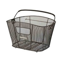 Bold L - bicycle basket - black