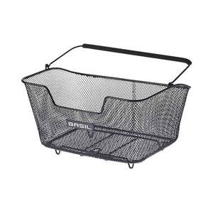 Basil Base M - bicycle basket - rear - black