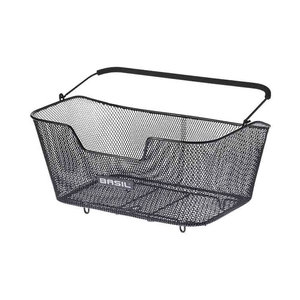 Base L - bicycle basket - black