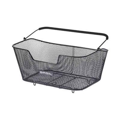 Basil Base L - bicycle basket - rear - black