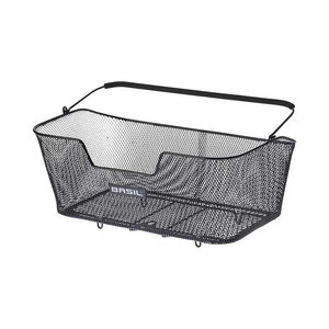 Basil Base XL - bicycle basket - rear - black