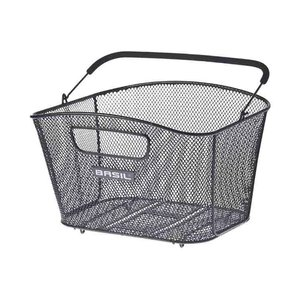 Basil Bold M Multi System - bicycle basket - rear - black