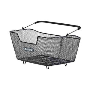 Basil Base M Multi System - bicycle basket - rear - black