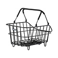 Cento Alu MIK - bicycle basket - black