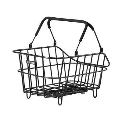 Basil Cento Alu MIK - bicycle basket - black