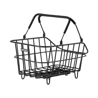 Basil Cento Alu MIK - Fahrradkorb – schwarz