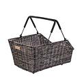Cento Rattan Look MIK - bicycle basket - brown