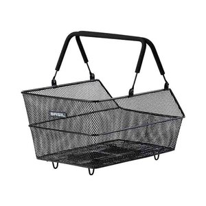 Basil Cento MIK - bicycle basket - rear - black