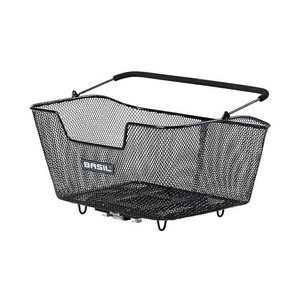 Base M MIK - bicycle basket - black