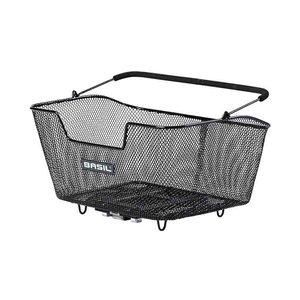 Basil Base M MIK - bicycle basket - rear - black