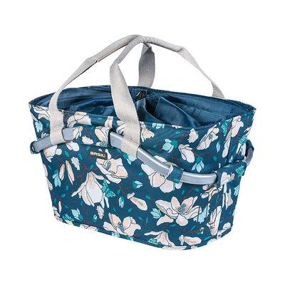 Magnolia Carry All – Fahrradkorb – hinten - blau
