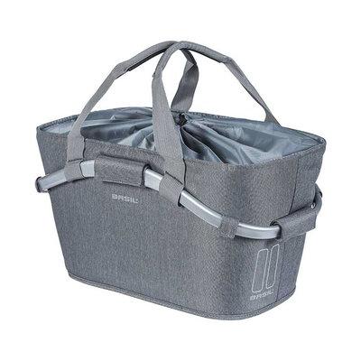 Basil 2Day Carry All MIK - Fahrradkorb - hinten - grau