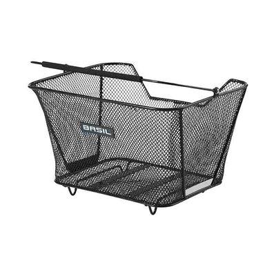 Basil Lesto - rear basket - rear - black
