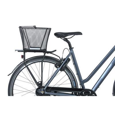 Basil Lesto - Fahrradkorb - hinten - schwarz