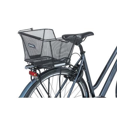 Basil Lesto - fietsmand - achterop - zwart