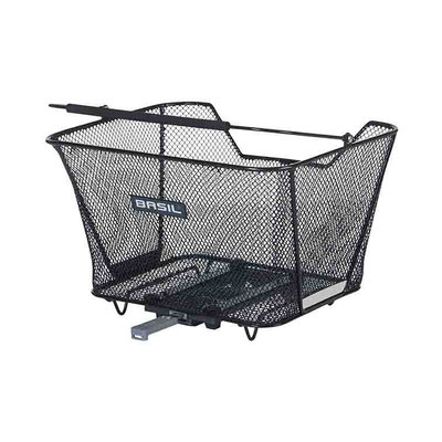 Basil Lesto MIK - rear basket - rear - black