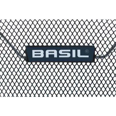 Basil Lesto MIK - HR-Korb - hinten - schwarz