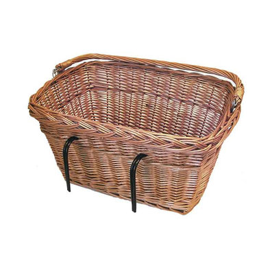 Basil Davos - bicycle basket - front or rear - nature