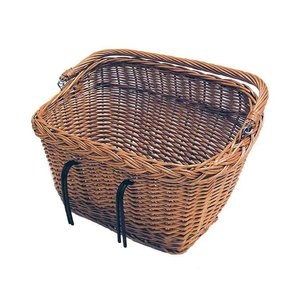 Basil Dublin - bicycle basket - front or rear - nature