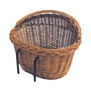 Basil Detroit - bicycle basket - front or rear - nature
