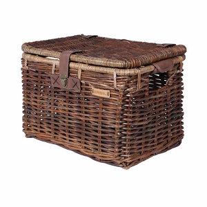 Denton L - bicycle basket - brown