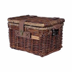 Denton S - bicycle basket - brown