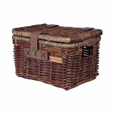 Basil Denton - bicycle basket - small - brown