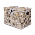 Denton L - bicycle basket - grey
