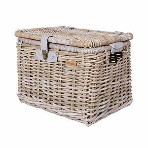 Denton L - bicycle basket - grey
