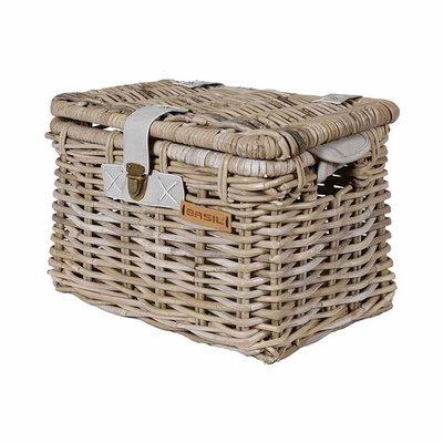 Basil Denton - bicycle basket - medium - grey