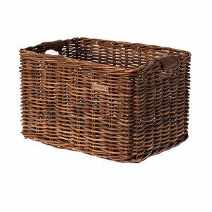 Dorset L - bicycle basket - brown