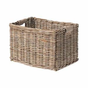 Dorset L - bicycle basket - grey