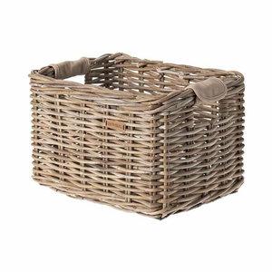 Basil Dorset - bicycle basket - medium - grey