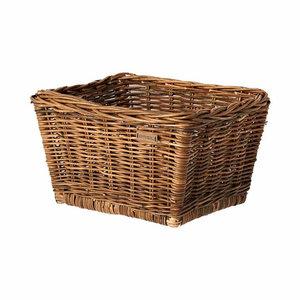 Dalton M - bicycle basket - brown