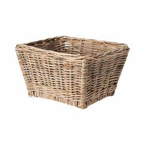 Basil Dalton - bicycle basket - medium - grey