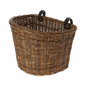 Basil Darcy L - bicycle basket - front or rear - nature