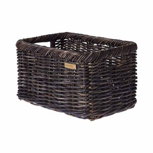 Noir L - bicycle basket - black