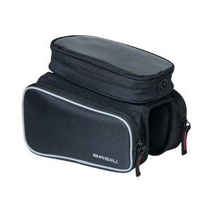 Sport Design - top tube frame bag double - black
