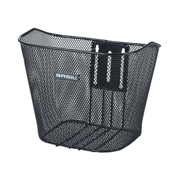 Bremen FM -  bicycle basket - black