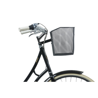 Basil Bremen FM - bicycle basket - front - black