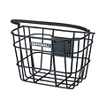 Bremen Alu KF - bicycle basket - black