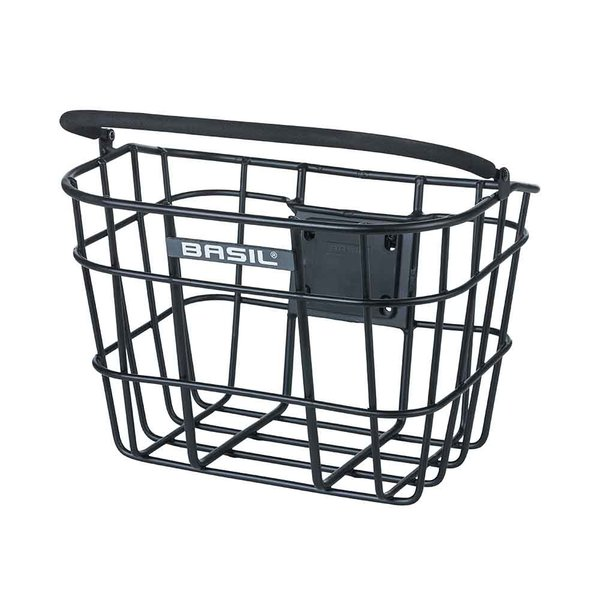 Bremen Alu KF - bicycle basket - black