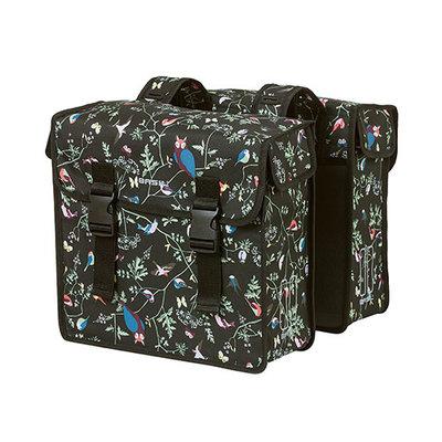 Basil Wanderlust -  double bicycle bag - 35 liter - charcoal