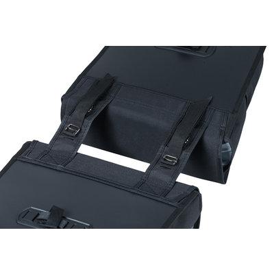 Basil GO - doppelte  Fahrradtasche - 32 Liter - schwarz